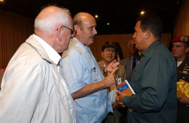 Cockcroft, Hugo Chávez & François Houtard