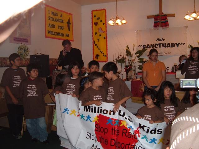 Saulito Arellano & 4 million US kids vs. Raids 2007