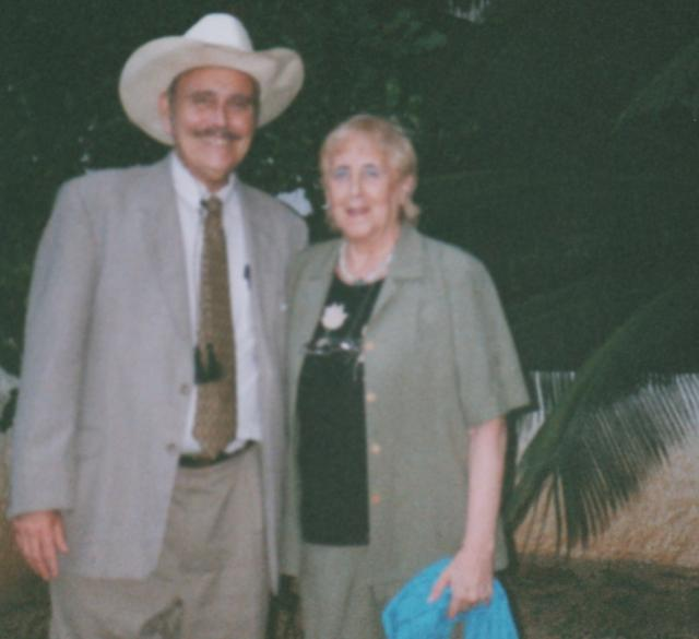with Stella Calloni 2006